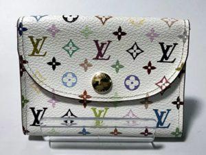 【Louis Vuitton】ルイ・ヴィトン モノグラム・マルチカラー ブロン アンヴェロップ・カルト ドゥ ヴィジット カードケース レディース M66560【中古】