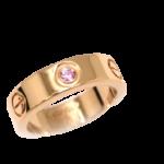 【質】Cartier カルティエ  永遠の愛の象徴として人気のLOVEリング PGの質預かり価格は【かんてい局亀有店】葛飾区・足立区・江戸川区・荒川区・松戸市