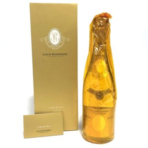 ルイロデレール クリスタル 2008年 シャンパン ボックス付き